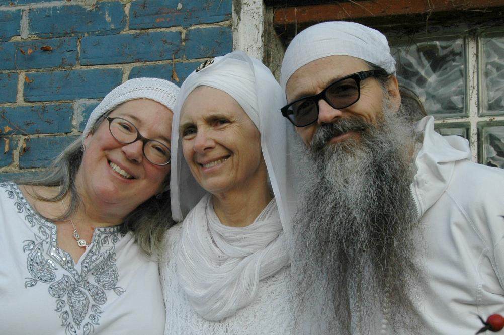 Santokh, Daya, and Nirmal are the Kundalini Yoga Teachers at the Yoga Retreat in Ontario Canada